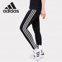 adidas Stripes Unisex Plain Leggings Pants
