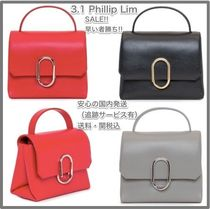 3.1 Phillip Lim 2WAY Plain Leather Elegant Style Handbags
