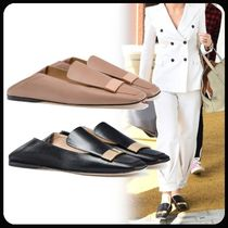 Sergio Rossi Casual Style Leather Flats