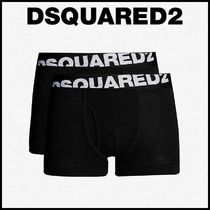 D SQUARED2 Street Style Plain Cotton Boxer Briefs