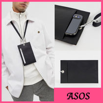 ASOS Plain Leather Wallets & Small Goods