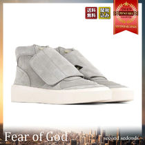 FEAR OF GOD Suede Plain Sneakers