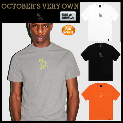 6995d78a6 OCTOBERS VERY OWN. Street Style Caps. $112.30 USD. Street Style Plain Short  Sleeves T-Shirts