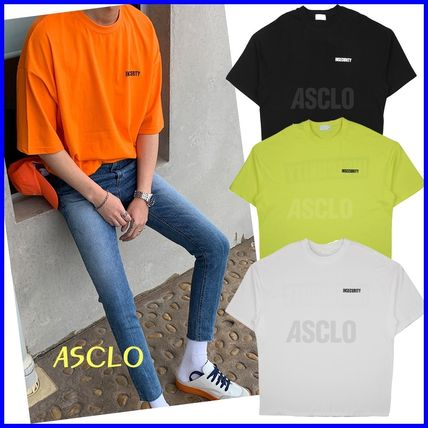 ASCLO More T-Shirts Street Style U-Neck Short Sleeves T-Shirts
