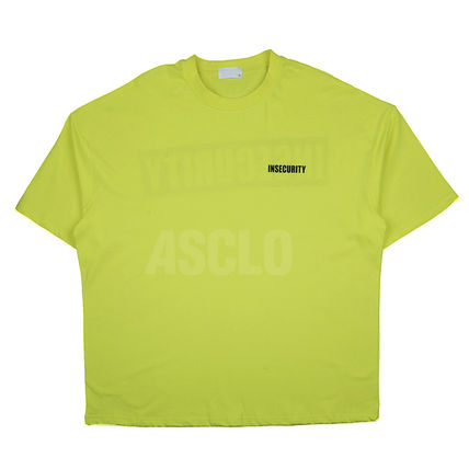 ASCLO More T-Shirts Street Style U-Neck Short Sleeves T-Shirts 13