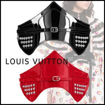 Louis Vuitton 2019-20AW CEINTURE LOUISE CORSET noir rouge 70-80 belt