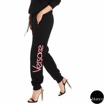 VERSACE Casual Style Sweat Street Style Long Sweatpants