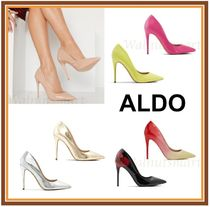 ALDO Plain Pin Heels Elegant Style Pointed Toe Pumps & Mules