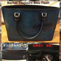 Berluti 2WAY Leather Handmade Totes