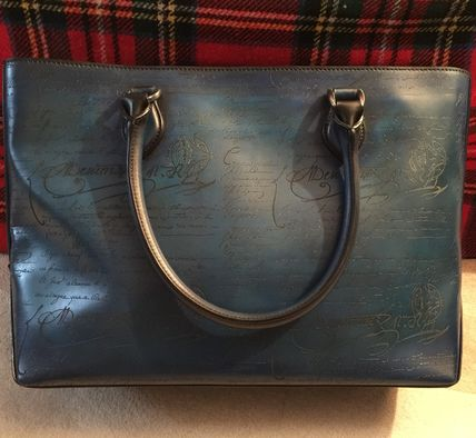 2WAY Leather Handmade Totes