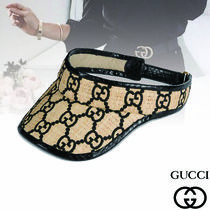 GUCCI Unisex Street Style Hats & Hair Accessories