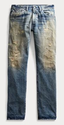 RRL More Jeans Denim Street Style Plain Jeans 2