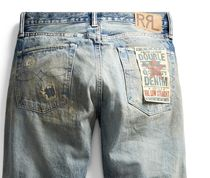 RRL More Jeans Denim Street Style Plain Jeans 5