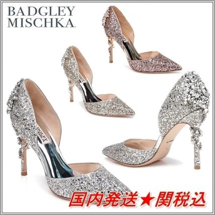 Pin Heels With Jewels Elegant Style