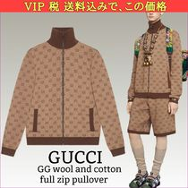 GUCCI Blended Fabrics Track Jackets