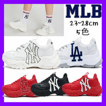 MLB Korea Casual Style Unisex Collaboration Low-Top Sneakers