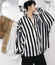Stripes Long Sleeves Shirts