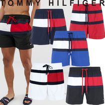 Tommy Hilfiger Stripes Street Style Bi-color Beachwear