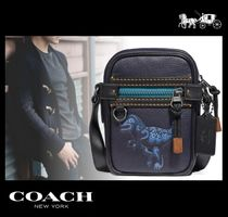 Coach Other Animal Patterns Leather Messenger & Shoulder Bags