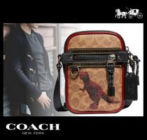 Coach Monogram Other Animal Patterns Leather