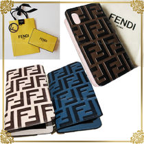 FENDI Leather Smart Phone Cases