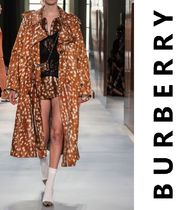 Burberry Long Elegant Style Trench Coats