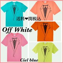 Off-White Street Style Cotton Short Sleeves T-Shirts