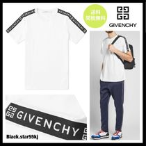 GIVENCHY Street Style Short Sleeves Logos on the Sleeves T-Shirts