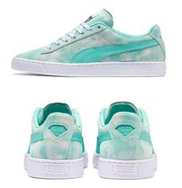 PUMA SUEDE Unisex Suede Street Style Collaboration Sneakers