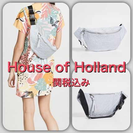 Casual Style Street Style Plain Bags