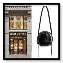 Louis Vuitton Monogram Blended Fabrics 2WAY Leather Elegant Style