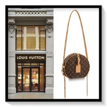 Louis Vuitton Monogram Canvas Blended Fabrics 2WAY Elegant Style