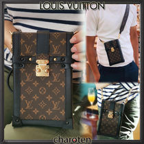 Louis Vuitton MONOGRAM Monogram Unisex Canvas Blended Fabrics 2WAY Bi-color Chain