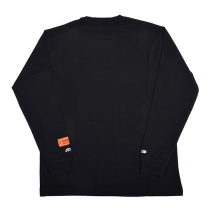 Heron Preston Long Sleeve Pullovers Street Style Long Sleeves Plain Cotton 2