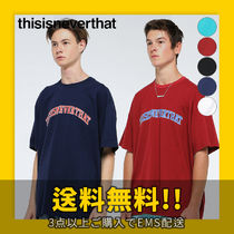 thisisneverthat Cotton Short Sleeves T-Shirts
