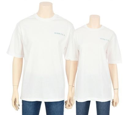 Guess More T-Shirts U-Neck Cotton Short Sleeves T-Shirts 3