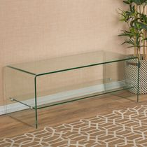 Clear Furniture TV Tables Kitchen & Dining Room