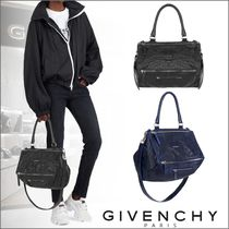 GIVENCHY PANDORA Casual Style Unisex Lambskin 2WAY Shoulder Bags