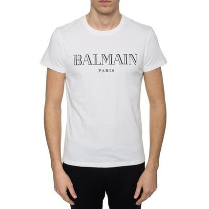 BALMAIN Crew Neck Crew Neck Short Sleeves Crew Neck T-Shirts 2