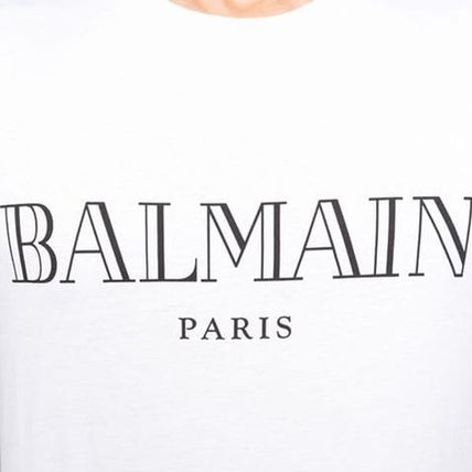 BALMAIN Crew Neck Crew Neck Short Sleeves Crew Neck T-Shirts 5