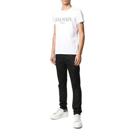 BALMAIN Crew Neck Crew Neck Short Sleeves Crew Neck T-Shirts 4