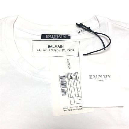 BALMAIN Crew Neck Crew Neck Short Sleeves Crew Neck T-Shirts 8