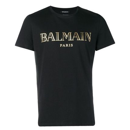 BALMAIN Crew Neck Crew Neck Short Sleeves Crew Neck T-Shirts 9