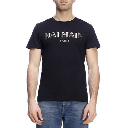BALMAIN Crew Neck Crew Neck Short Sleeves Crew Neck T-Shirts 10
