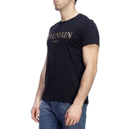 BALMAIN Crew Neck Crew Neck Short Sleeves Crew Neck T-Shirts 11