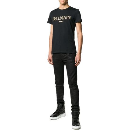 BALMAIN Crew Neck Crew Neck Short Sleeves Crew Neck T-Shirts 13