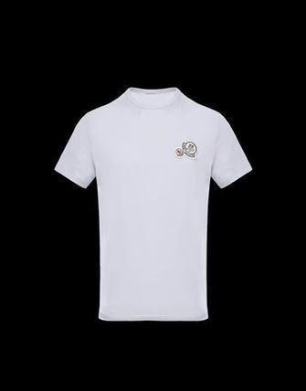 MONCLER Crew Neck Crew Neck Cotton Short Sleeves Crew Neck T-Shirts 2