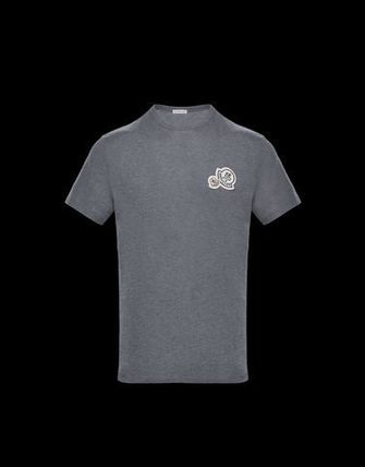 MONCLER Crew Neck Crew Neck Cotton Short Sleeves Crew Neck T-Shirts 5