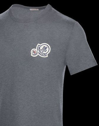 MONCLER Crew Neck Crew Neck Cotton Short Sleeves Crew Neck T-Shirts 6