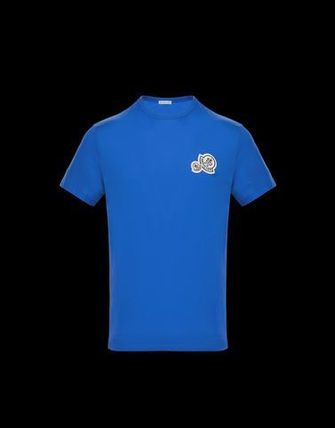 MONCLER Crew Neck Crew Neck Cotton Short Sleeves Crew Neck T-Shirts 8